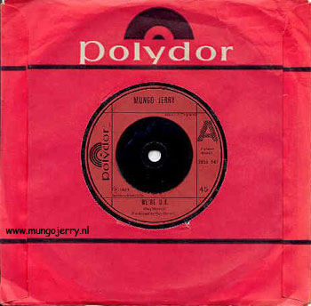 Polydor 2058947 UK 1977 A: We're Ok - Different Version B: Let's Make It